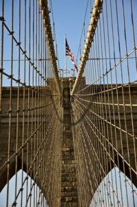 Dan-McClung-Brooklyn-Bridge-and-Flag