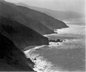 Edward Weston, Mountains and ocean