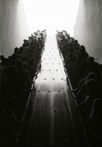 People-on-escalator