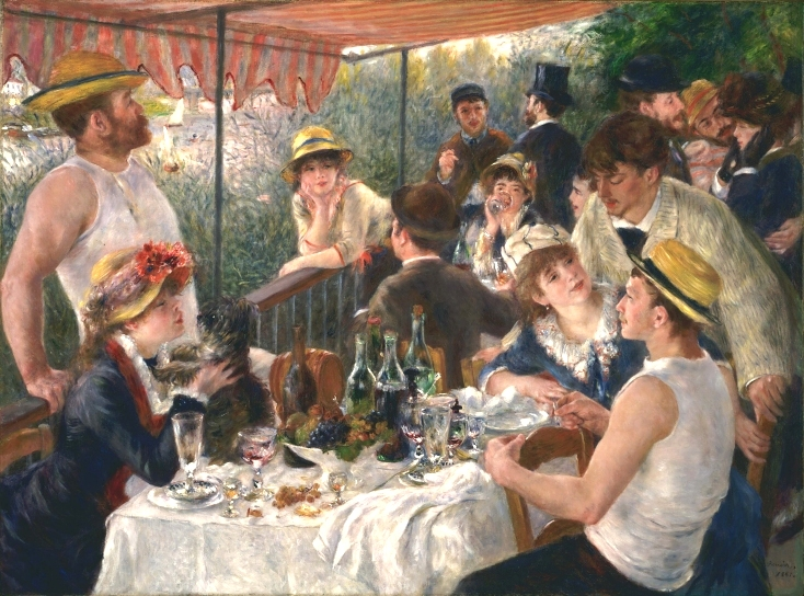 Renoir Luncheon of the Boating Party