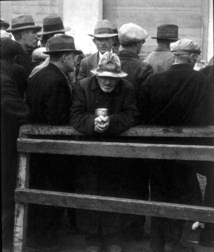 Dorothea Lange, alternate view of White Angel Breadline