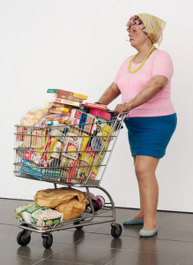 Duane Hanson, Supermarket Shopper