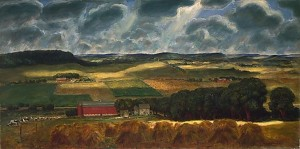John Steuart Curry, Wisconsin Landscape