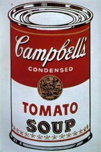 Warhol, Campbells Soup