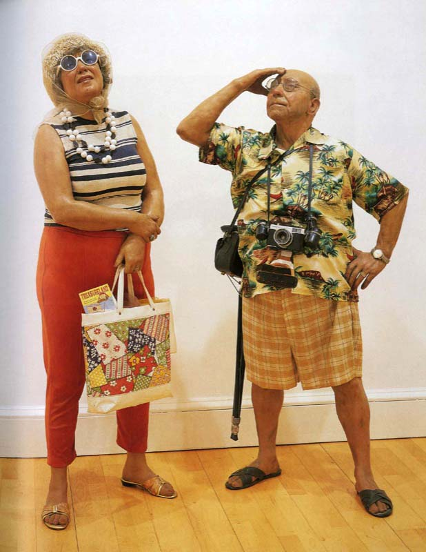 duane hanson, tourists
