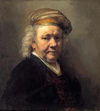 Rembrandt Self-Portrait, 1669