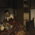 "Vermeer, ""A Maid Asleep"""