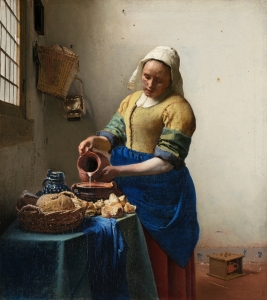 "Vermeer, ""The Milkmaid"""