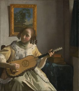 "Vermeer, ""The Guitar Player"""