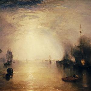 Keelman Heaving in Coals by Moonlight