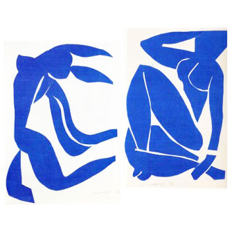 Matisse-cutouts-figures-blue-on-white