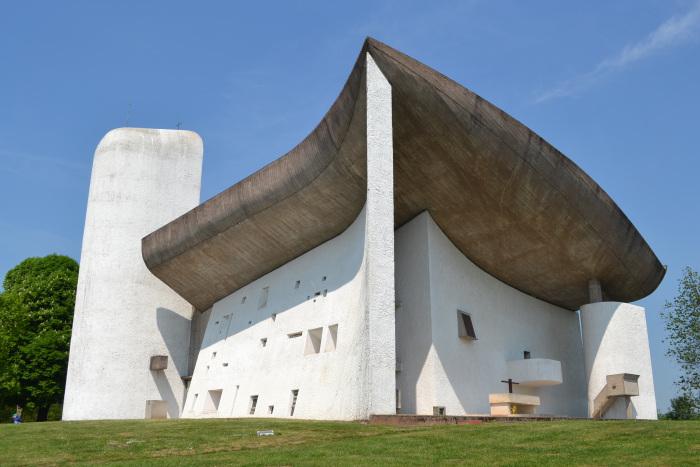 Le Corbusier, Notre Dame du Haut at Ronchamp
