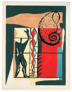"""Le Corbusier, """"Poem of the Right Angle,"""" 1955."""