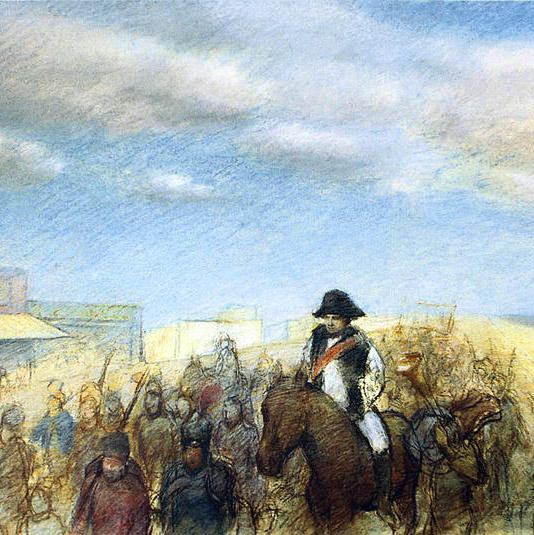 Napoleon Entering Brighton Beach