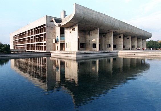Palace of Assembly, Chandigarh, India. Photo: John Macdougall /AFP