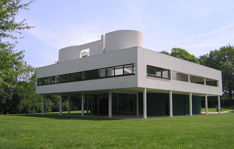 Le Corbusier, Villa Savoye exterior. Photo: David Harrison, NZ