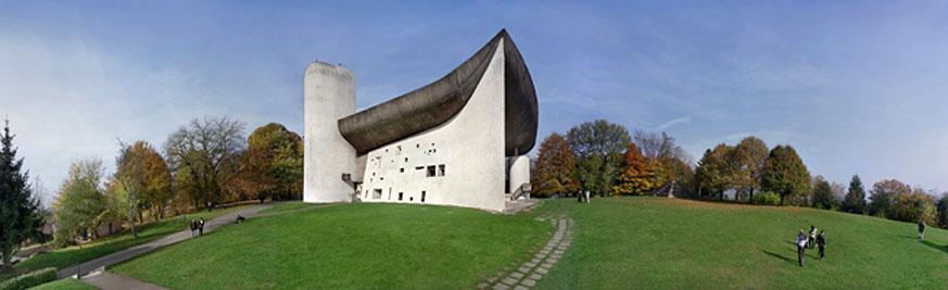 Le Corbusier, Notre Dame du Haut at Ronchamp. Photo: Richard Pare