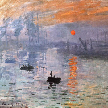 Monet, Impression Sunrise