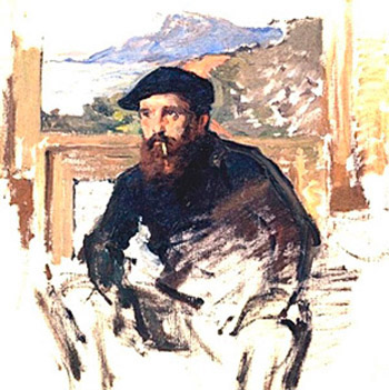 Monet, Self-Portrait