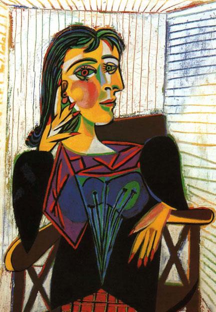 "Pablo Picasso, ""Dora Maar, Seated"""