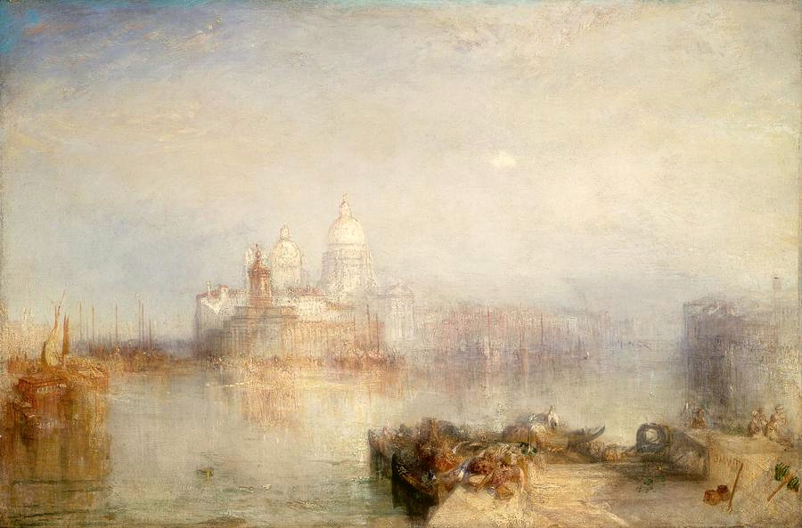 J.M.W. Turner, The Dogana and Santa Maria della Salute