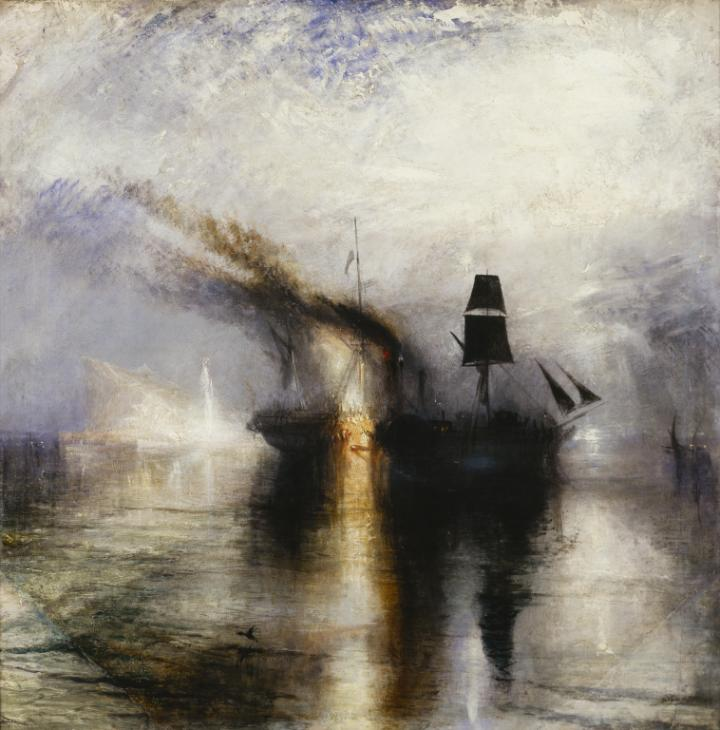 JMW Turner, Peace - Burial at Sea