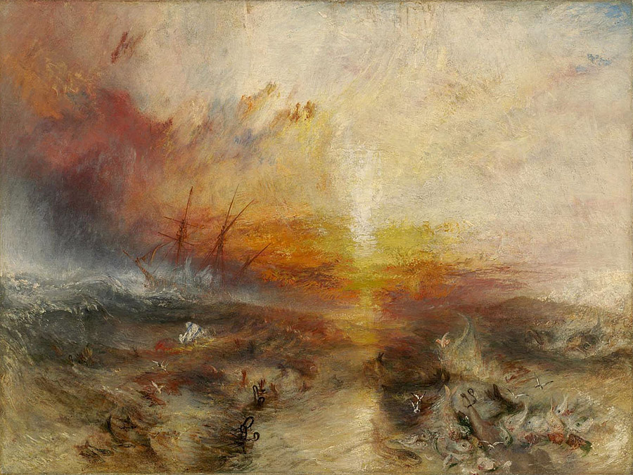 J.M.W. Turner, The Slave Ship