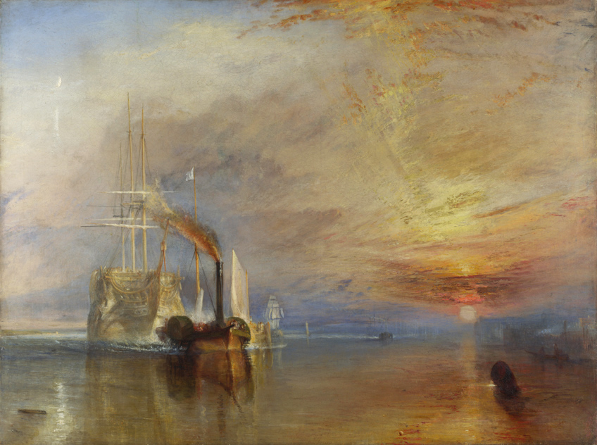 J.M.W. Turner, The Fighting Temeraire
