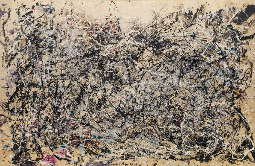 Jackson Pollock, Number 1A, 1948