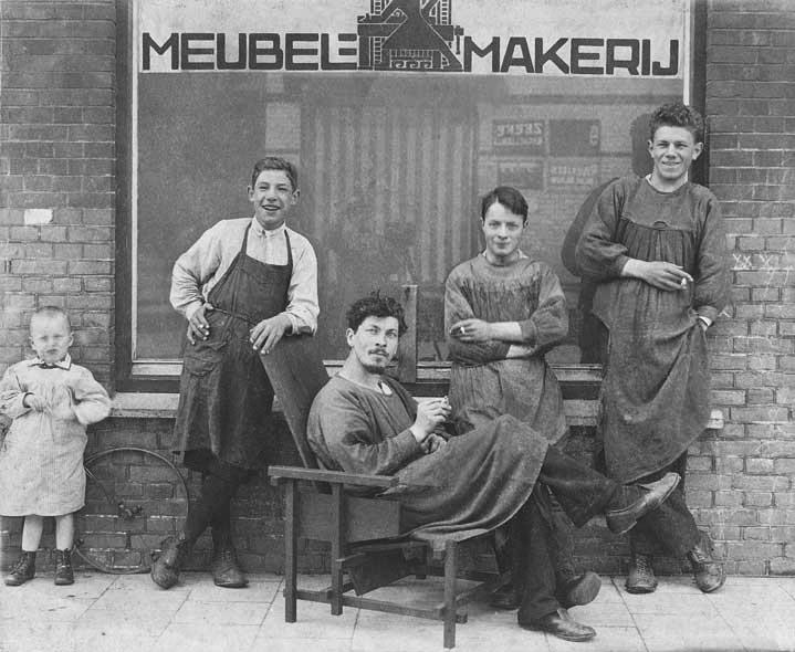 Rietveld Atelier in 1919