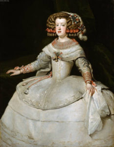 Velazquez, Infanta Maria Teresa