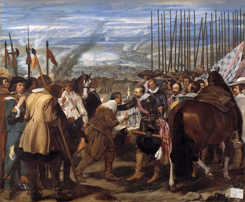 Velazquez, The Surrender of Breda, 1635