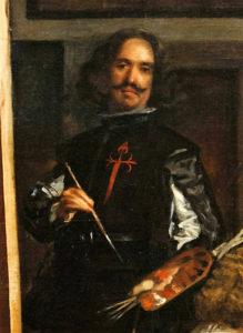 "Velazquez, self-portrait from ""Las Meninas"""