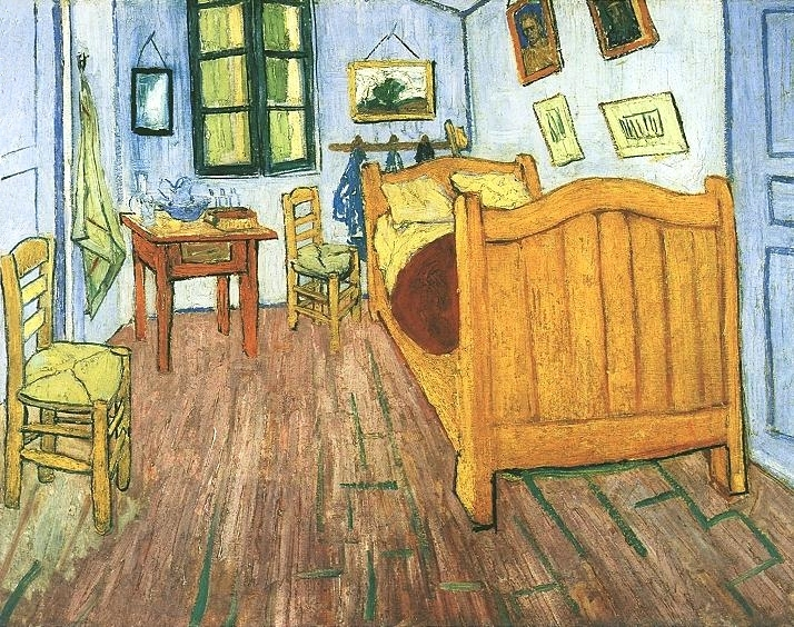 "Van Gogh's ""Bedroom at Arles,"" 1888"