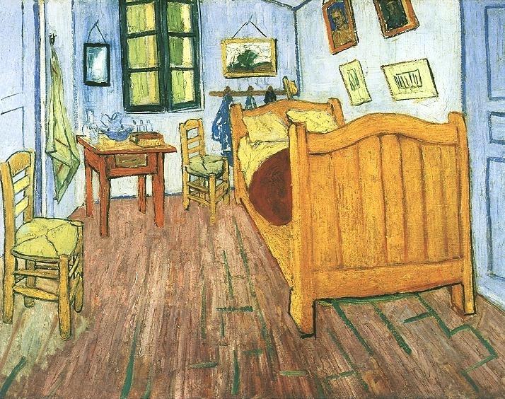 """Van Gogh's """"Bedroom at Arles,"""" 1888"""