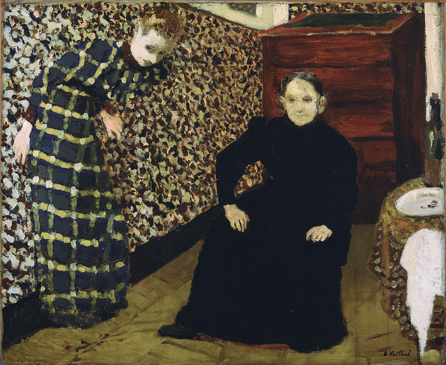 "Vuillard, ""Interior: Mother and Sister of the Artist"""
