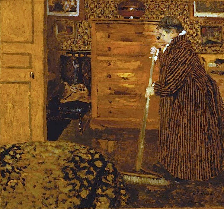 Vuillard-Woman-Sweeping-1899