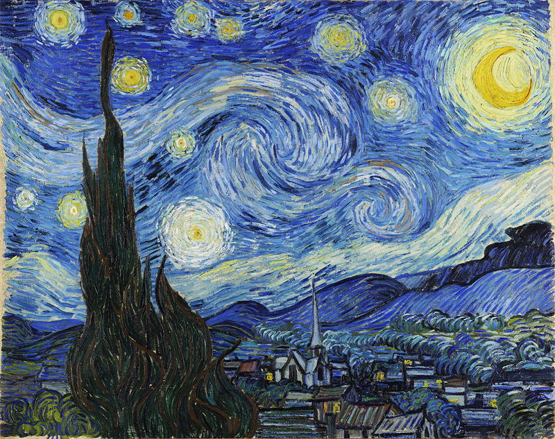 "Van Gogh, ""Starry Night"""
