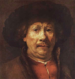 Rembrandt self-portrait c 1655