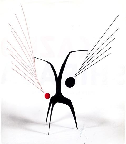 Calder, Effet du Japonais, c. 1945