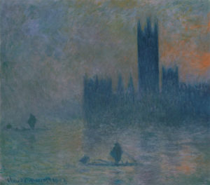 Monet, Houses of Parliament, Fog Effect