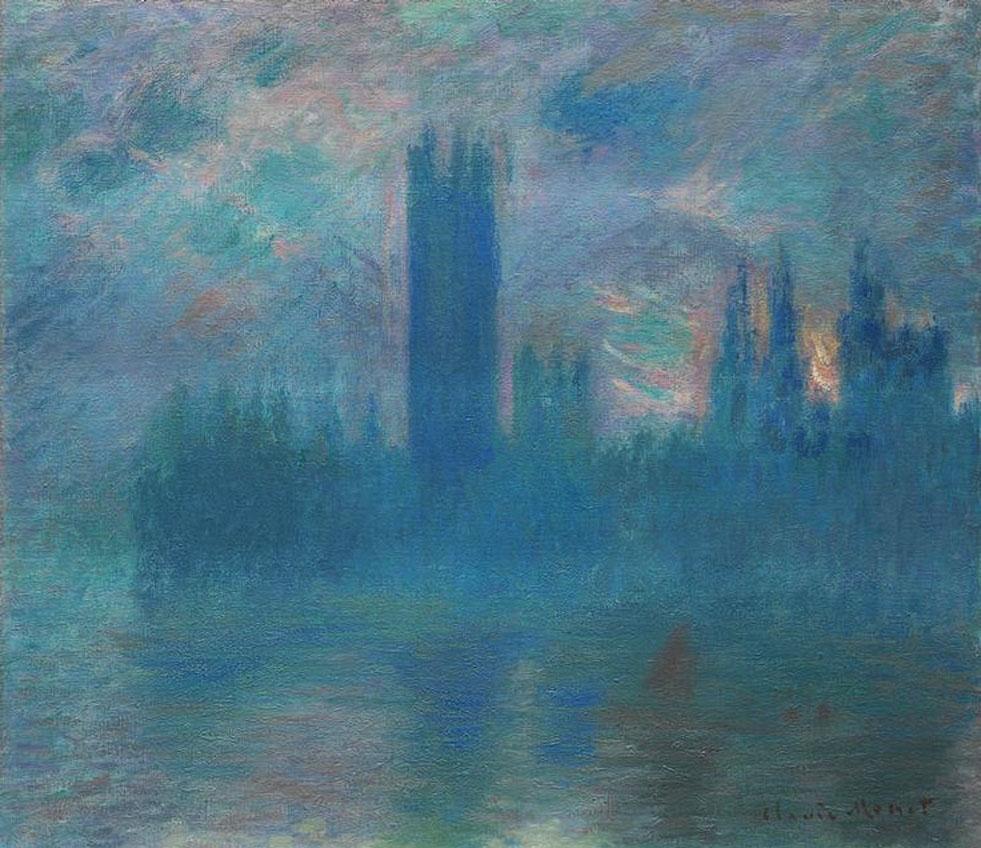 Monet, House of Parliament, London, 1900-01