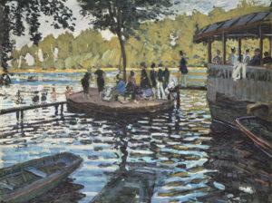 Monet, La Grenouillère