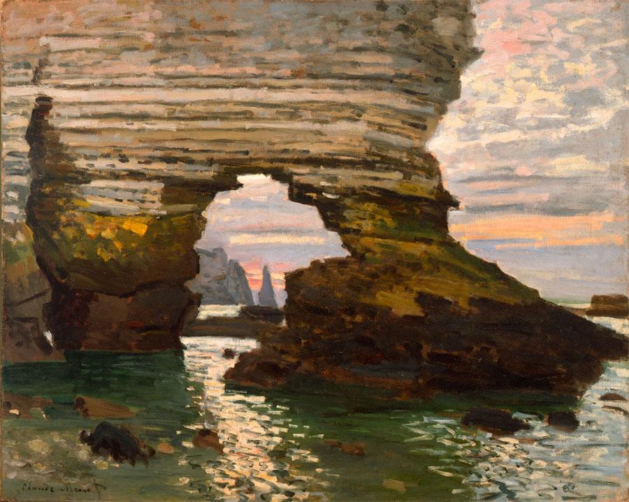 Monet, La Porte d'Amont, Étretat