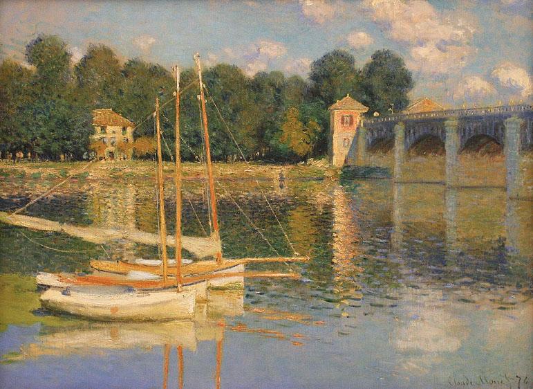 Monet, Le Pont d'Argenteuil
