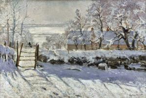 Monet, Magpie, 1868