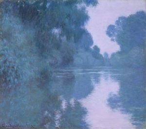 Monet, Morning on the Seine, near Giverny, 1897