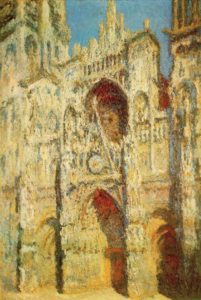Monet, Rouen Cathedral, Full Sunlight, 1894