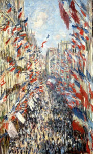 Monet, Rue Montorgueil, 30th of June, 1878