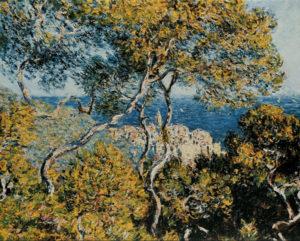 Monet, Trees at Bordighera, 1884